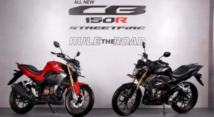 All New CB150R Streetfire Hadir Lebih Trendy
