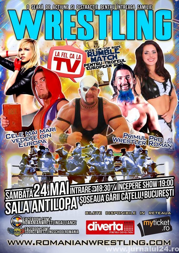 Wrestling romania