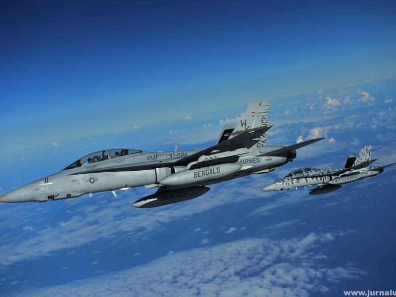America atacă Irakul