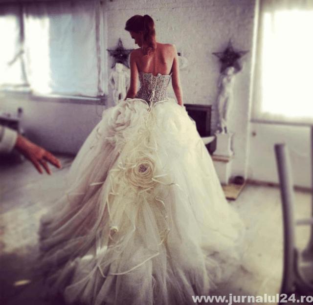 rochie de nunta frumoasa
