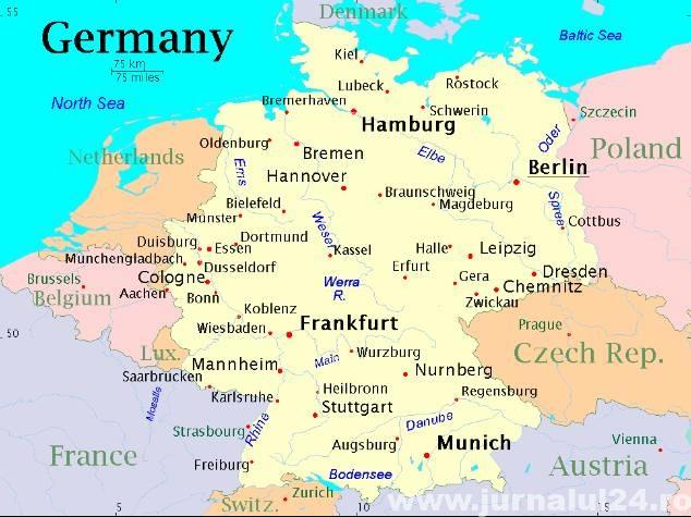 germania harta