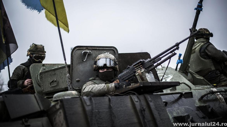 soldati ucrainieni in tanc