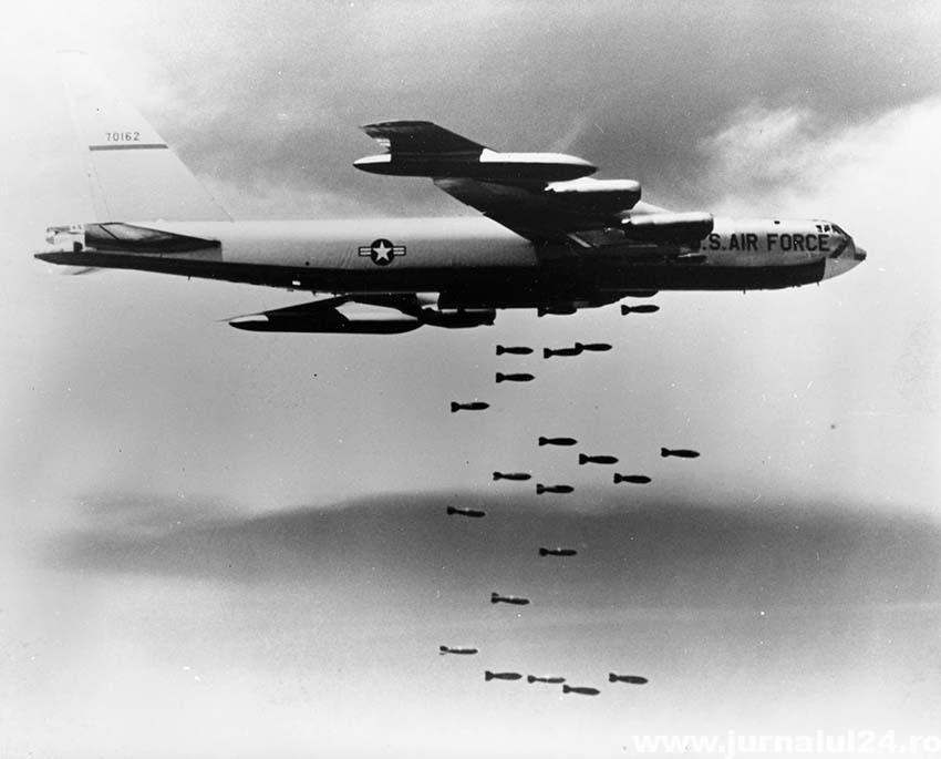 bombe atomice din avion