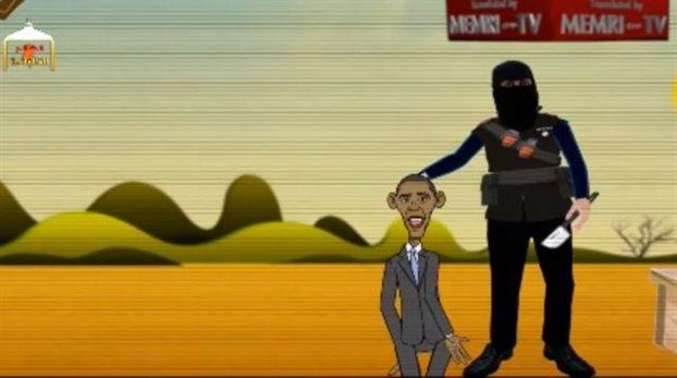 obama decapitat de statul islamic