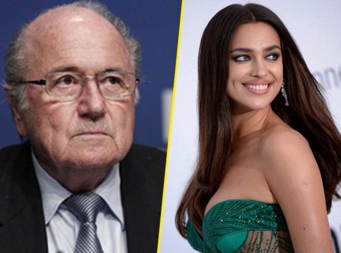 Irina Shayk si Sepp Blatter