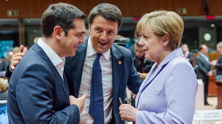 merkel si tsipras