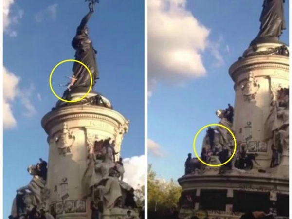 A înregistrat pe video moartea tânărului de la Paris Techno Parade
