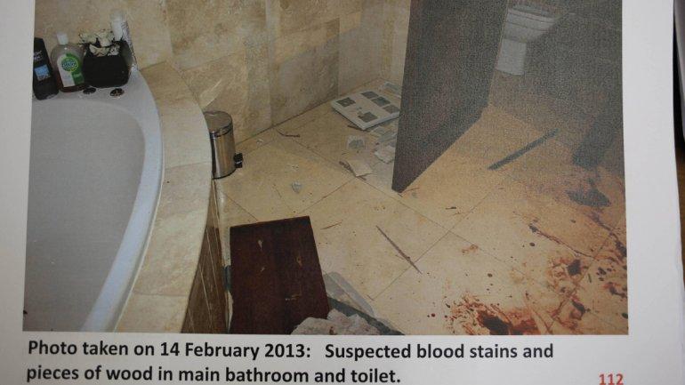 Oscar Pistorius baie crima