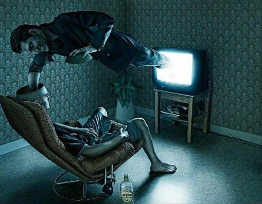spalarea creierului la tv