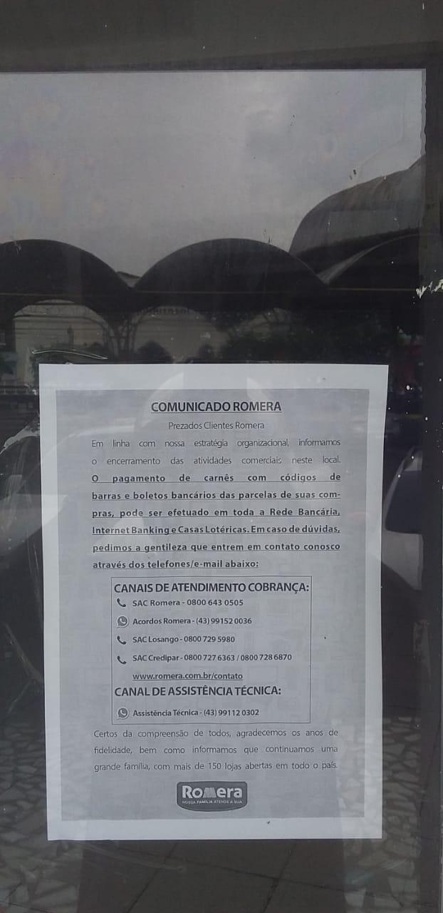 Após 10 anos de mercado, loja Romera de Cruzeiro do Sul fecha as portas - Jurua em Tempo