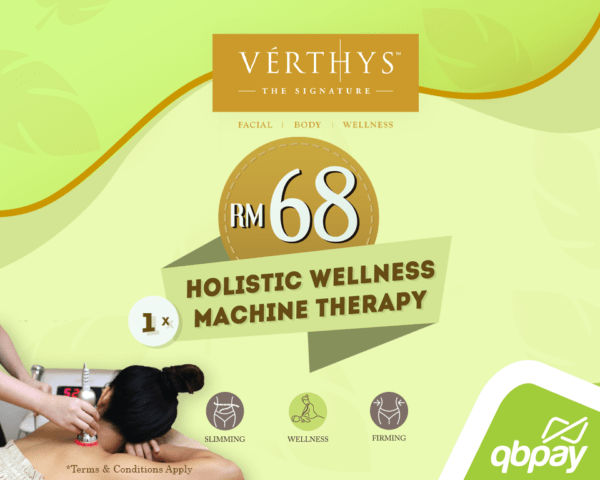 Holistic Wellness Machine Therapy with only RM68!