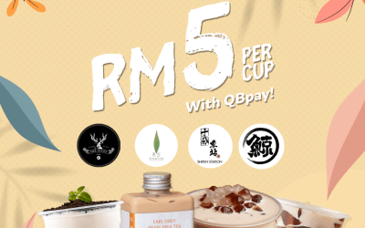 RM5 per Cup With QBpay!