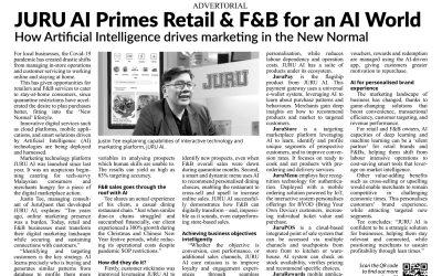JURU AI Primes Retail & F&B for an AI World