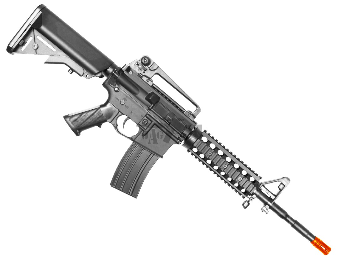 BULLDOG M4PG RIS AIRSOFT ELECTRIC RIFLE GUN IN AIRSOFT STORE TEXAS
