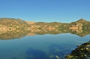 The river Ebro at Riba Roja