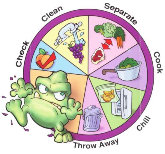 Alur Pencegahan Keracunan Makanan
