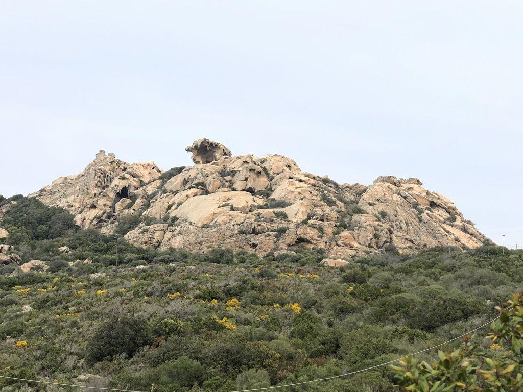 Roccia dell'Orso: Die ungewöhnlichen Felsformationen regen die Fantasie an. Foto: Sascha Tegtmeyer