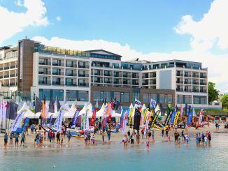 SUP Worldcup in Scharbeutz 2016: Spannende Veranstaltung am dritten Juni-Wochenende – und wir waren live dabei. Foto: Sascha Tegtmeyer sup worldcup scharbeutz 2016 stand up paddling surfen ostsee strand