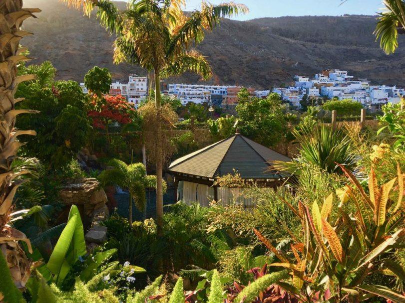 Tolle Hotelanlage: Das Cordial Mogán Playa ist in einen botanischen Garten eingebettet. Foto: Sascha Tegtmeyer