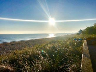 Ostsee-Urlaub im Herbst: So schön kann ein Novembermorgen in Scharbeutz sein! Foto: Sascha Tegtmeyer