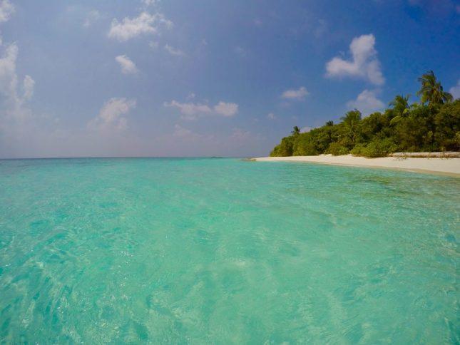 Wer im Winter richtig relaxen will, ist auf den Malediven goldrichtig. Foto: Sascha Tegtmeyer