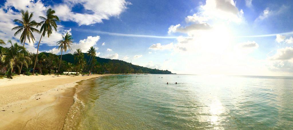 Reisebericht Koh Phangan Tipps Idyllische Trauminsel: Wer auf Koh Phangan landet, hat das Gefühl, im Paradies angekommen zu sein. Foto: Sascha Tegtmeyer