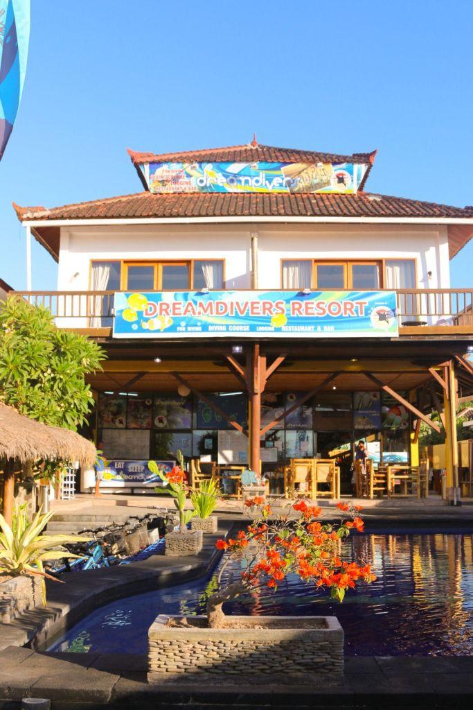 Das Dream Divers Resort auf Gili Trawangan: Der perfekte Ausgangspunkt für alle Entdeckungstouren auf den Gilis und Lombok. Foto: S. Tegtmeyer