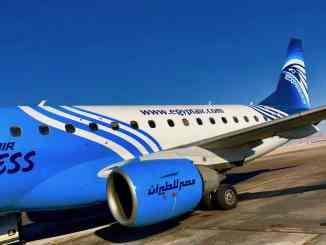 Inlandsflug von Hurghada nach Sharm El Sheik mit Egyptair: Die Verbindung ist sehr komfortabel! Foto: Sascha Tegtmeyer