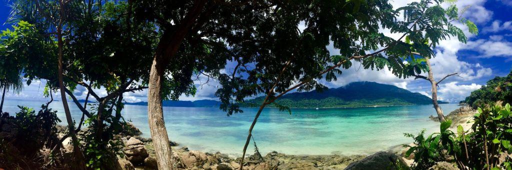 Blick von Koh Lipe auf den Tarutao Nationalpark. Foto: Sascha Tegtmeyer