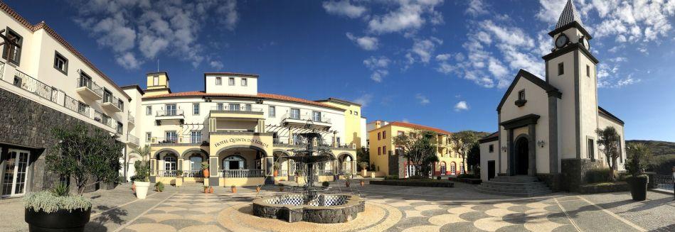 Quinta do Lorde Resort bei Canical: Mit Sicherheit eines der besten Hotels auf Madeira! Foto: Sascha Tegtmeyer