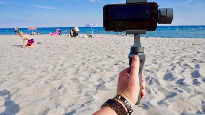 DJI Osmo Mobile 2 im Test: Wie schlägt sich der praktische Gimbal im Praxistest? Foto: Sascha Tegtmeyer