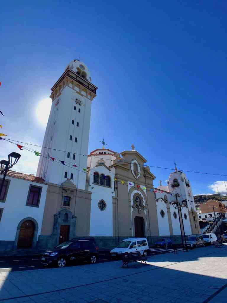 Die Basilika von Candelaria: ein idyllischer Künstlerort mit künstlerischem Ambiente. Foto: Sascha Tegtmeyer