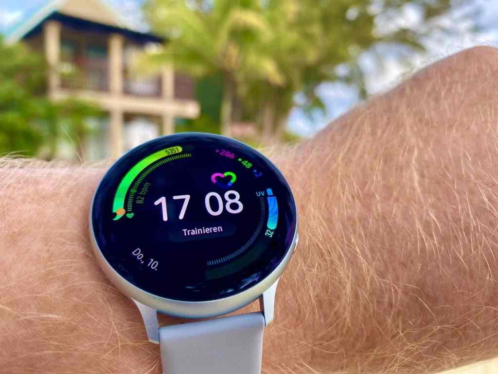 Durch und durch sportlich: Die Samsung Galaxy Watch Active 2 ist der ideale Begleiter für Sportler und Abenteurer. Foto: Sascha Tegtmeyer