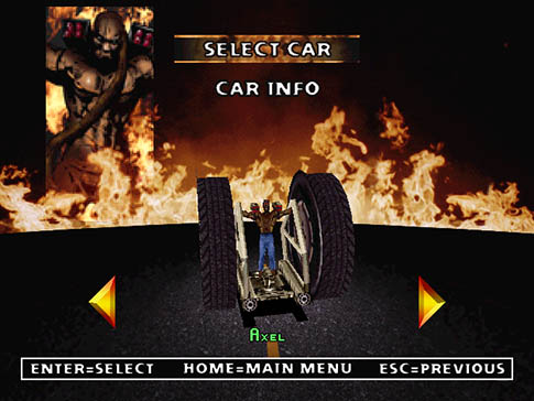 Twisted Metal 2 Axel