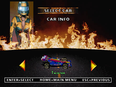 Twisted Metal 2 Twister