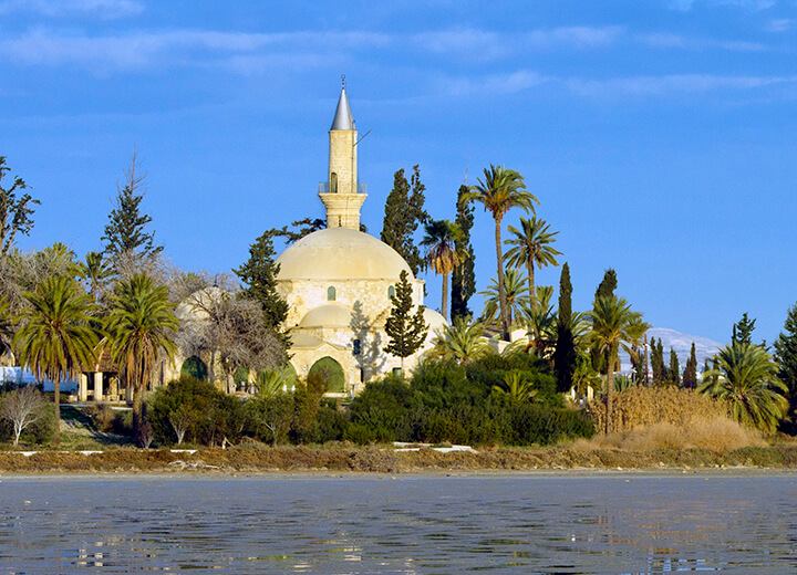 Hala Sultan Tekke Mosque and Gardens - Just About Cyprus