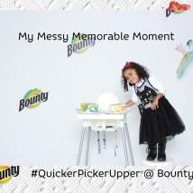 paper towels- quicker picker upper