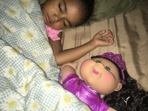 Sometimes JustaBXgirl co-sleeps