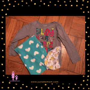 extra clothes preschool packing