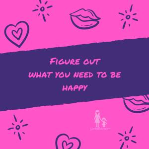 identify needs happy
