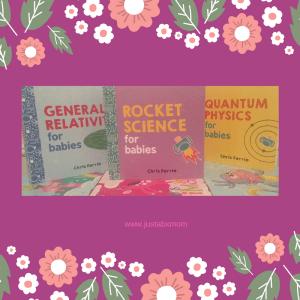chris ferrie, baby books, rocket science, quantum phsyics