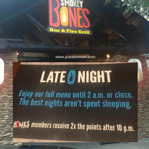 smokey bones restuarant, open late, barbecue, long island