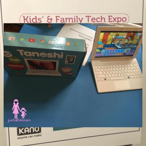 tanoshi, children's computer, tech
