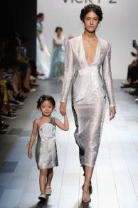 vicky zhang, nyfw, mommy and me fashion