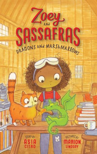 zoy and sassafras, dragons, marhmallows, science, magic