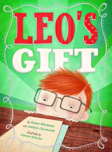 leo's gift, children's book