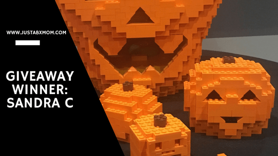 giveaway winner, legoland giveaway, brick or treat