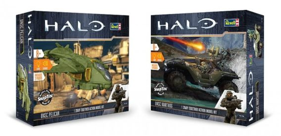 revell snaptite model kits, halo model kit