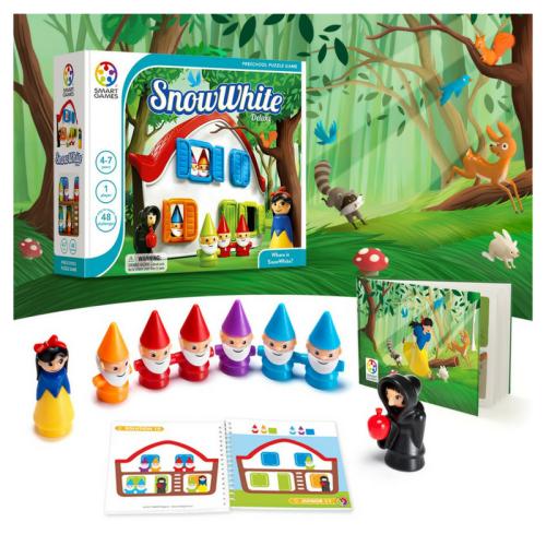 smart games, snow white, logic games
