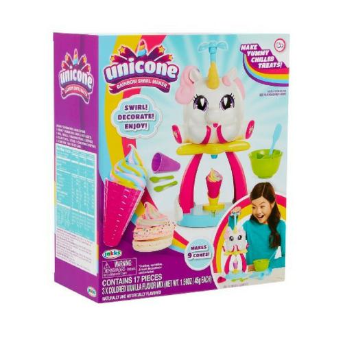 unicone rainbow swirl maker, unicorn poop